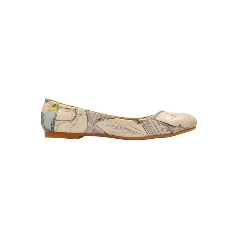 Budgies Are Cool Women's Ballet Flats Shoes image4