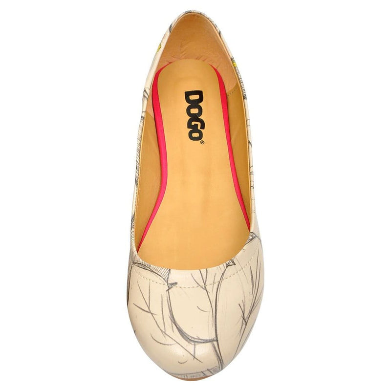 Budgies Are Cool Women's Ballet Flats Shoes image5
