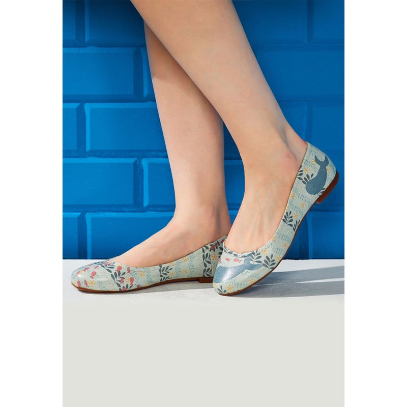 Budgies Are Cool Women's Ballet Flats Shoes image8
