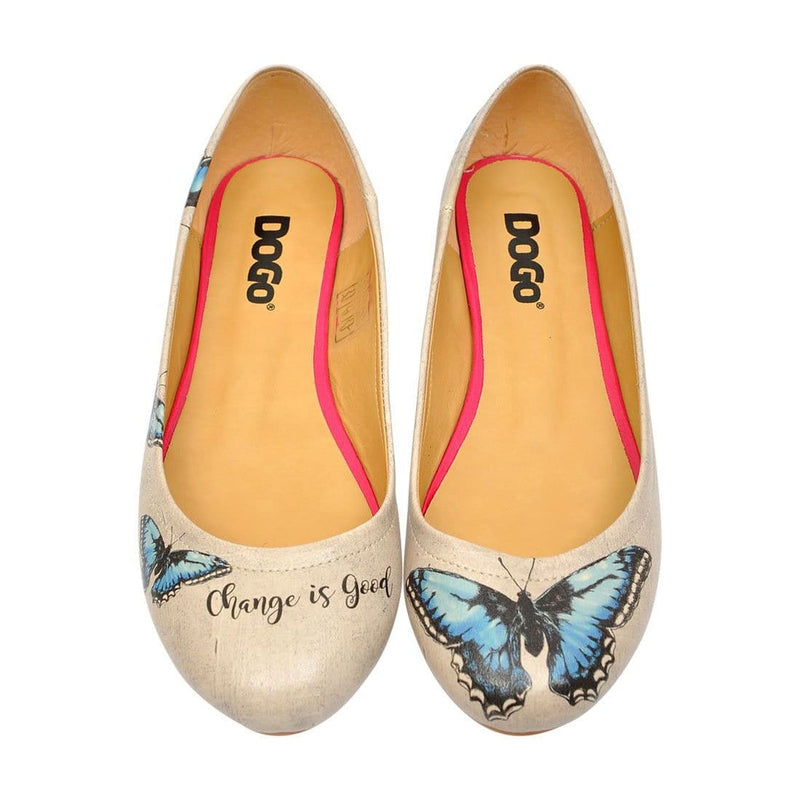 Change is Good Women's Ballet Flats Shoes image2