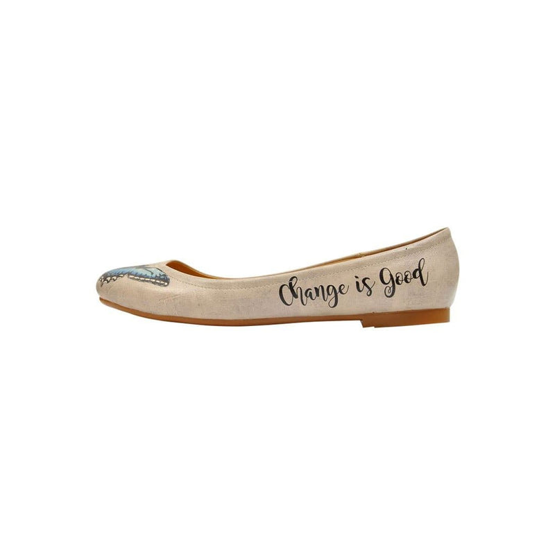 Change is Good Women's Ballet Flats Shoes image3