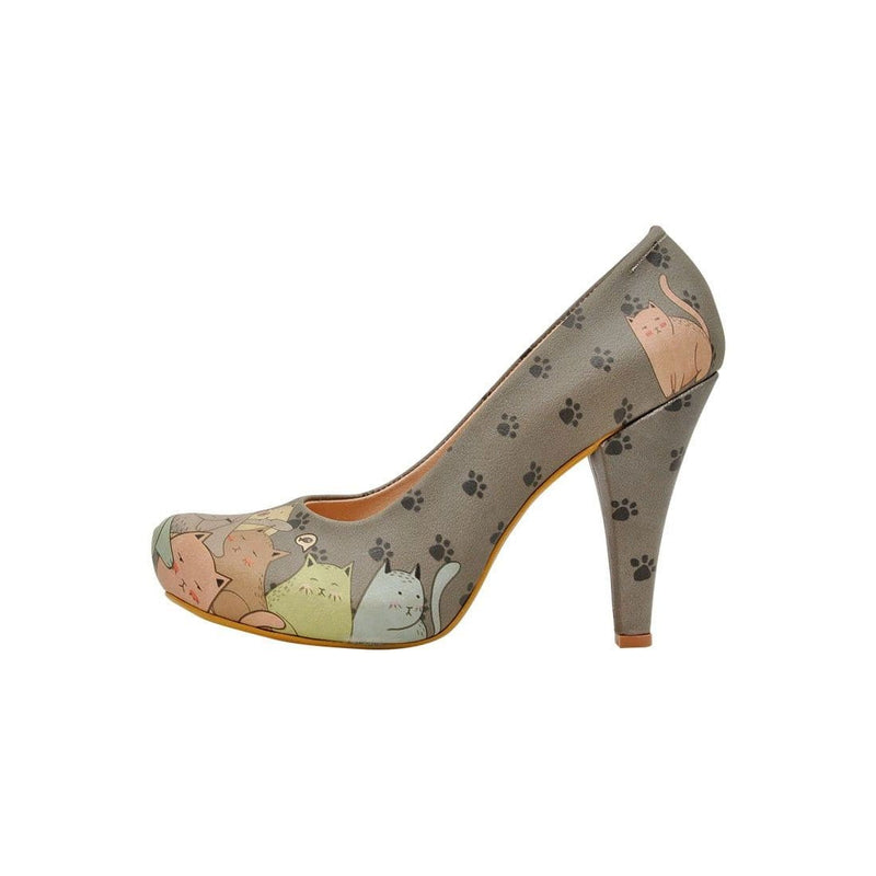 I Am A Cat Person Dogo Women's High Heel Shoesimage3