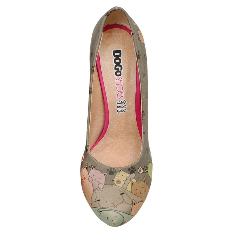 I Am A Cat Person Dogo Women's High Heel Shoesimage5