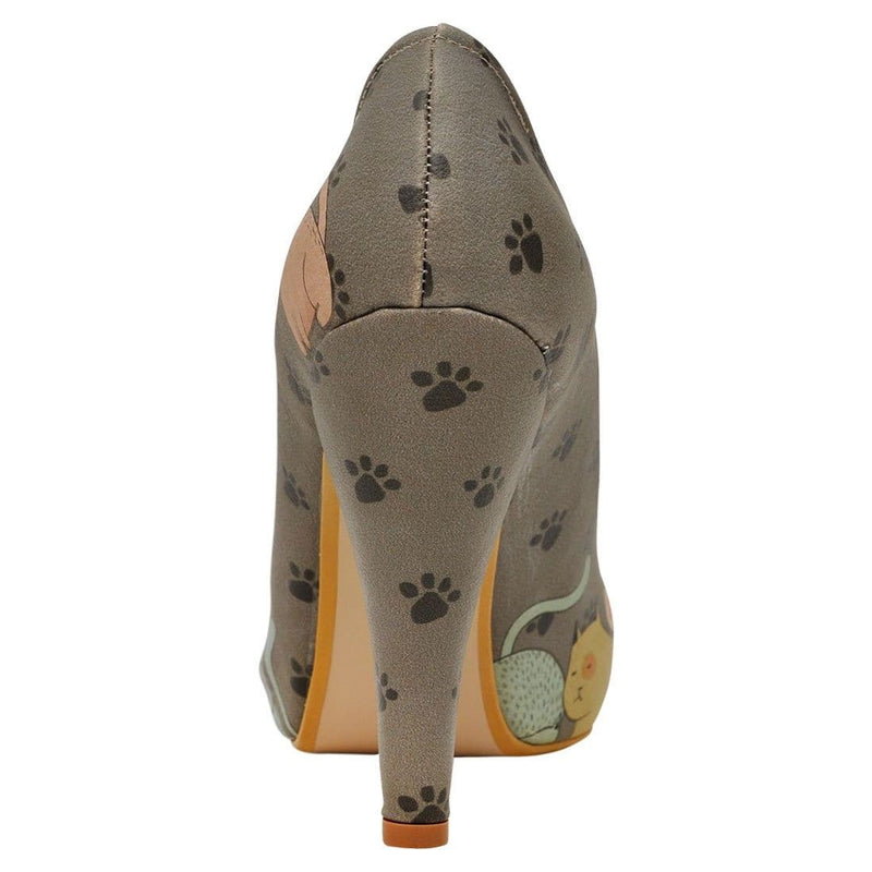 I Am A Cat Person Dogo Women's High Heel Shoesimage6
