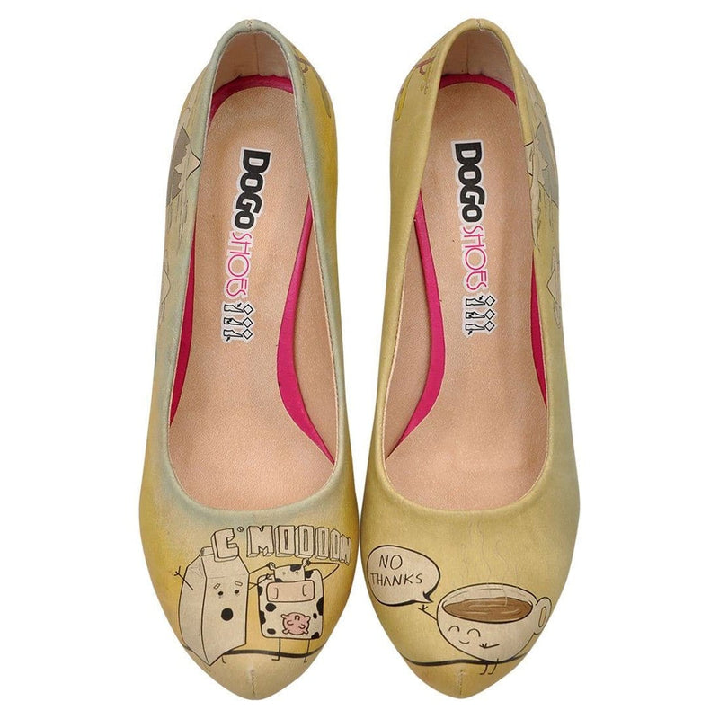 Nooooo Dogo Women's High Heel Shoesimage2