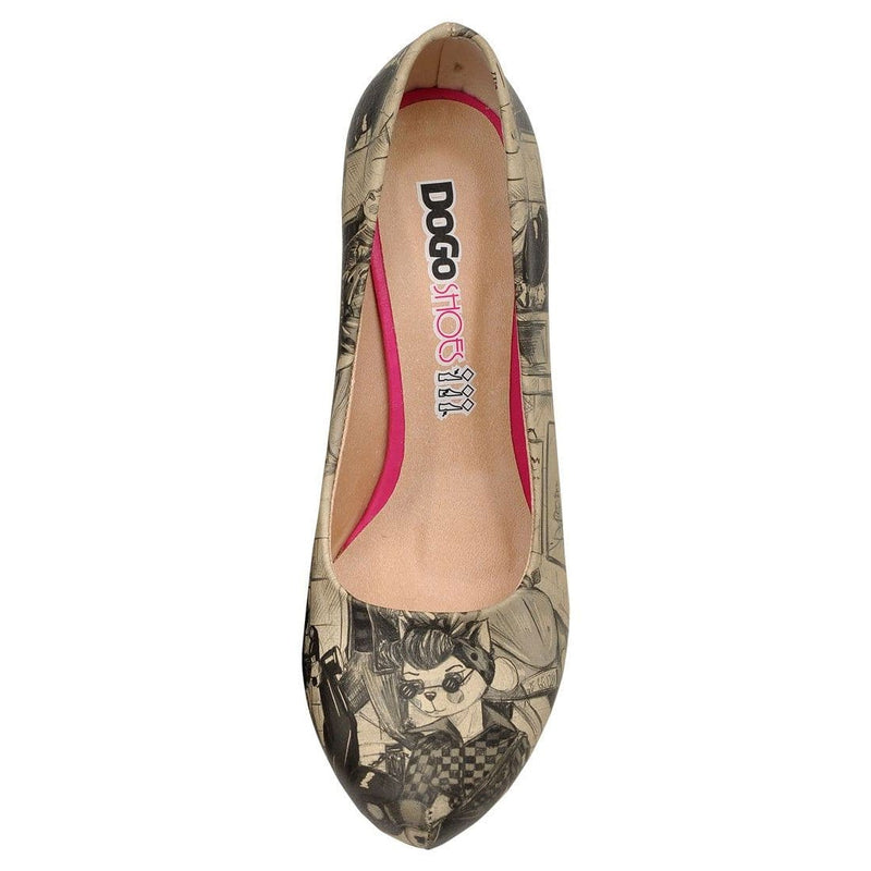 Cat City Life Dogo Women's High Heel Shoesimage5
