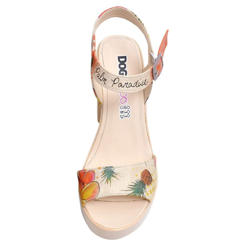 Hawaii Paradise Dogo Women's Heel Shoesimage4