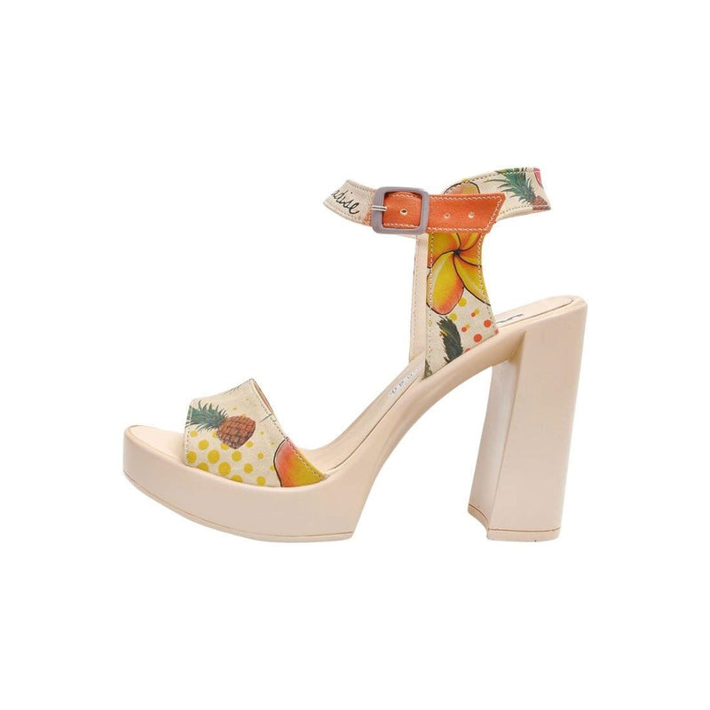 Hawaii Paradise Dogo Women's Heel Shoesimage5