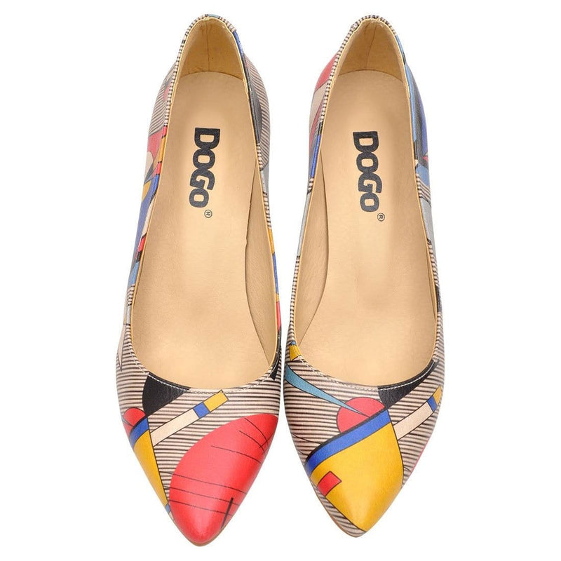 Geo Lines Dogo Women's Heel Shoesimage2
