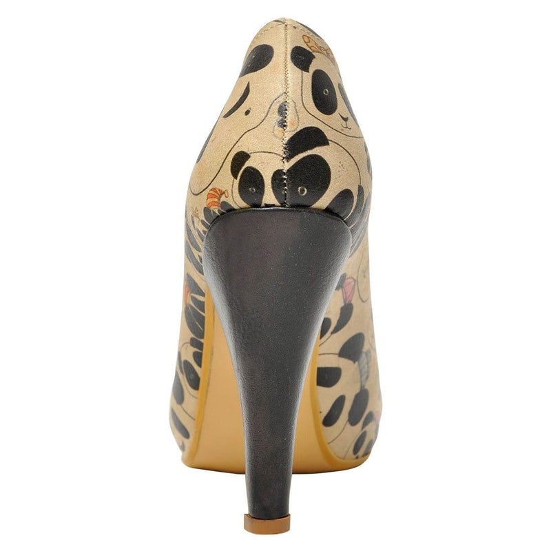 Panda Team Dogo Women's High Heel Shoesimage6