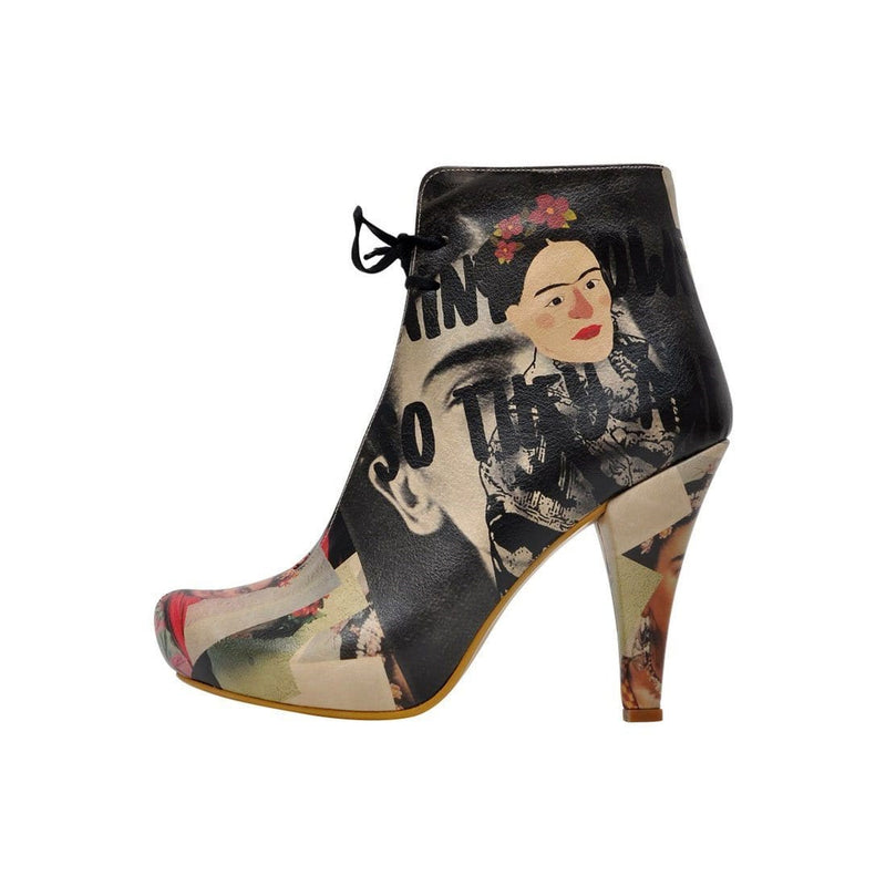 I Paint Flowers Dogo Women's Booties image3
