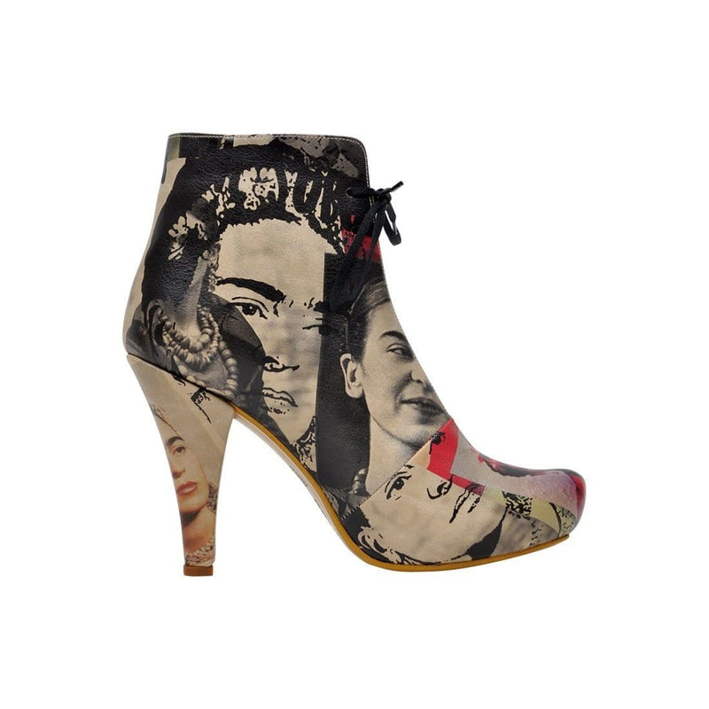 I Paint Flowers Dogo Women's Booties image4
