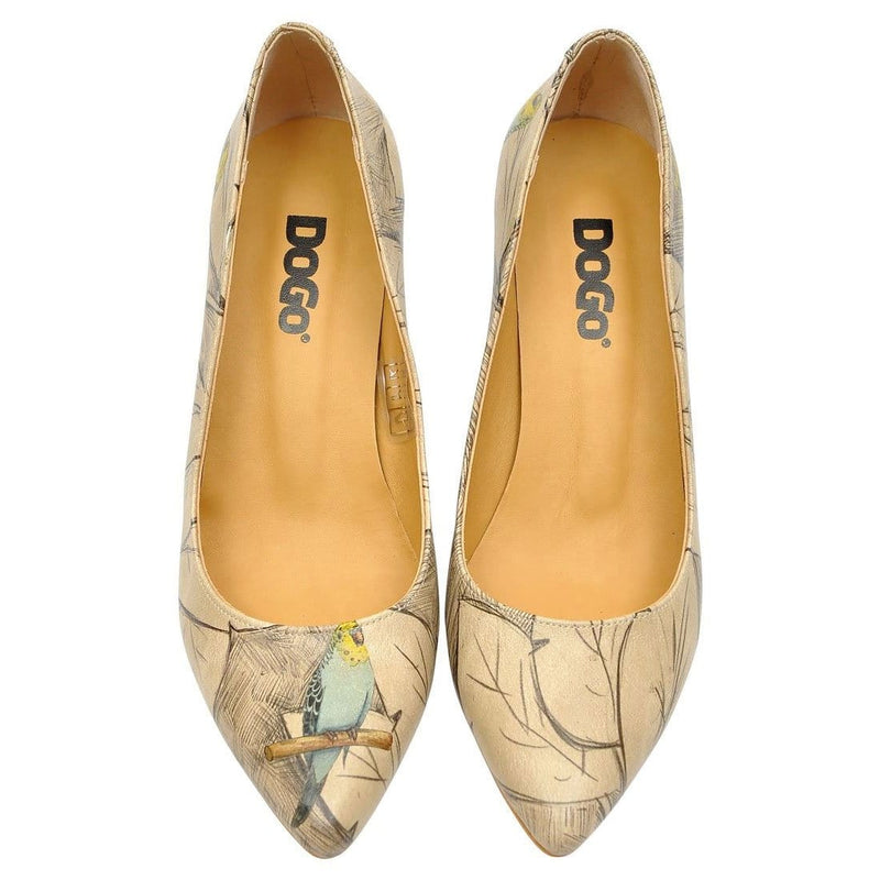 Budgies Are Cool Dogo Women's Heel Shoesimage2