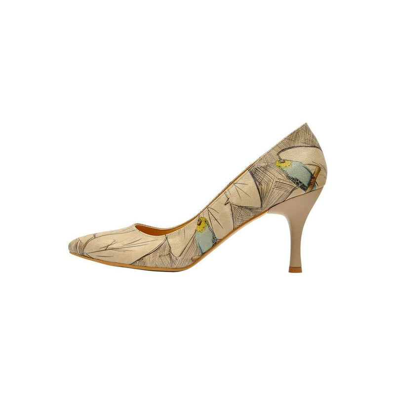 Budgies Are Cool Dogo Women's Heel Shoesimage3