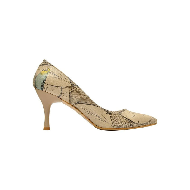 Budgies Are Cool Dogo Women's Heel Shoesimage4