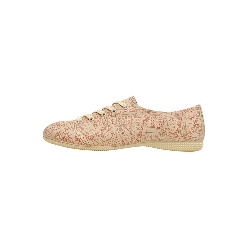 Town Dogo Women's Oxford Shoesimage3