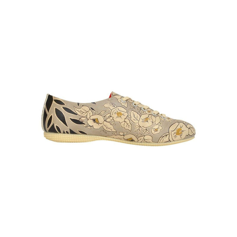 Gold Is New Black Dogo Women's Oxford Shoesimage4