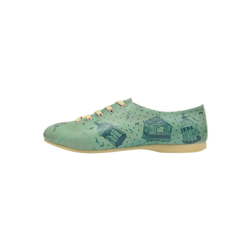 Free As A Bird Dogo Women's Oxford Shoesimage3