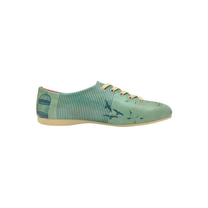 Free As A Bird Dogo Women's Oxford Shoesimage4
