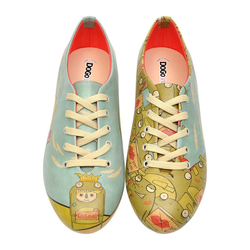 Kiss Me Dogo Women's Oxford Shoesimage2