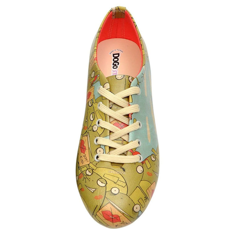 Kiss Me Dogo Women's Oxford Shoesimage5