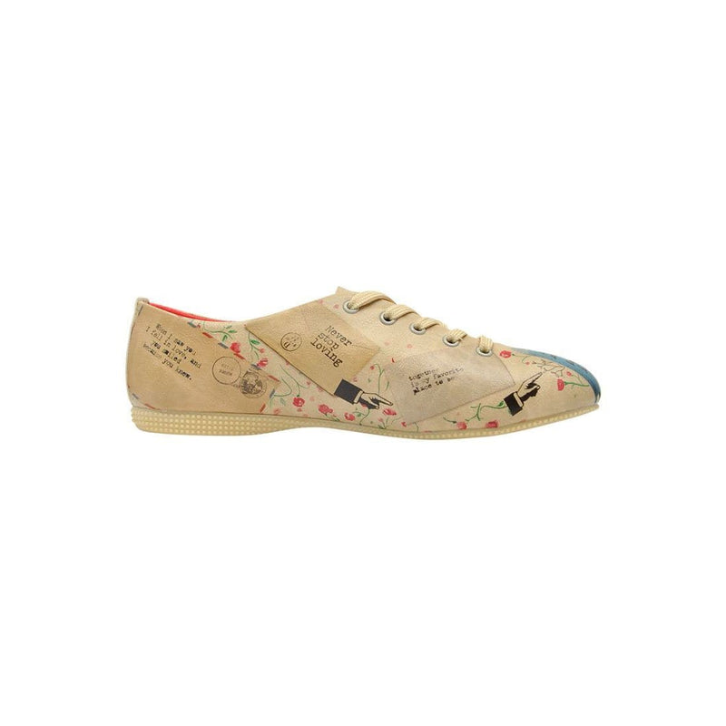 Love Letter Dogo Women's Oxford Shoesimage4