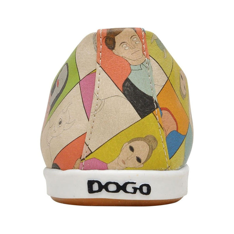 Portraits Dogo Women's Flat Shoesimage6