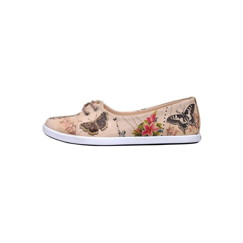 Marilyn With Butterflies Dogo Women's Flat Shoesimage3
