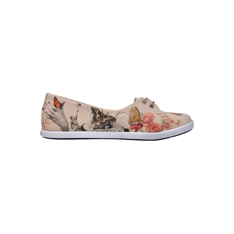 Marilyn With Butterflies Dogo Women's Flat Shoesimage4