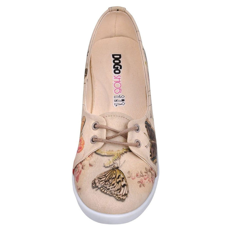 Marilyn With Butterflies Dogo Women's Flat Shoesimage5