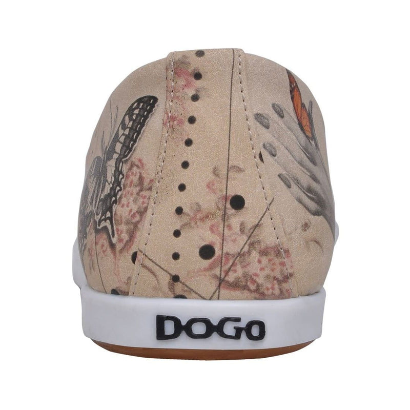Marilyn With Butterflies Dogo Women's Flat Shoesimage6