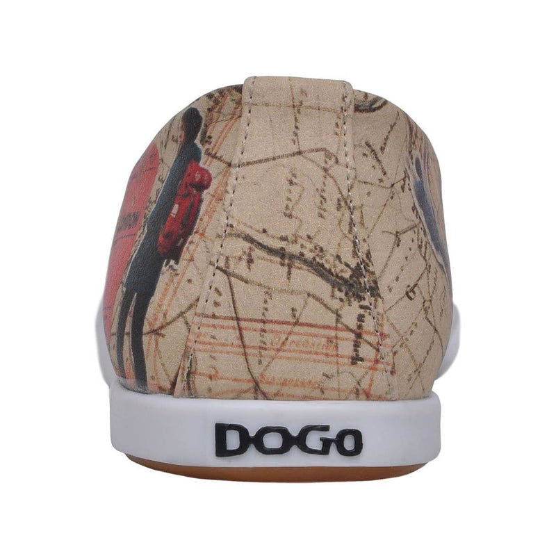 Travel Lover Dogo Women's Flat Shoesimage6