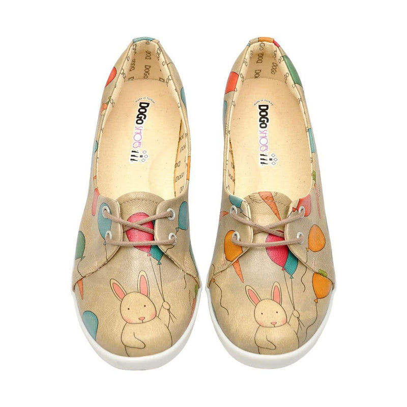 Flying Carrots Dogo Women's Flat Shoesimage2