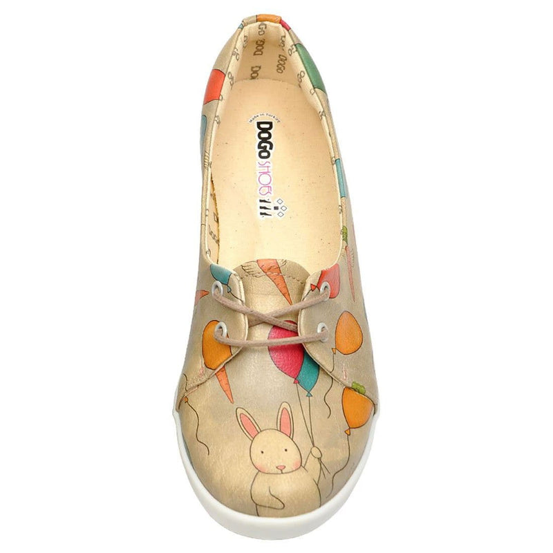 Flying Carrots Dogo Women's Flat Shoesimage5