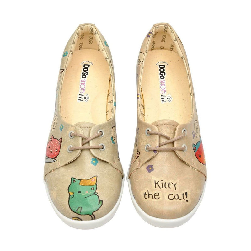 Kitty The Cat Dogo Women's Flat Shoesimage2