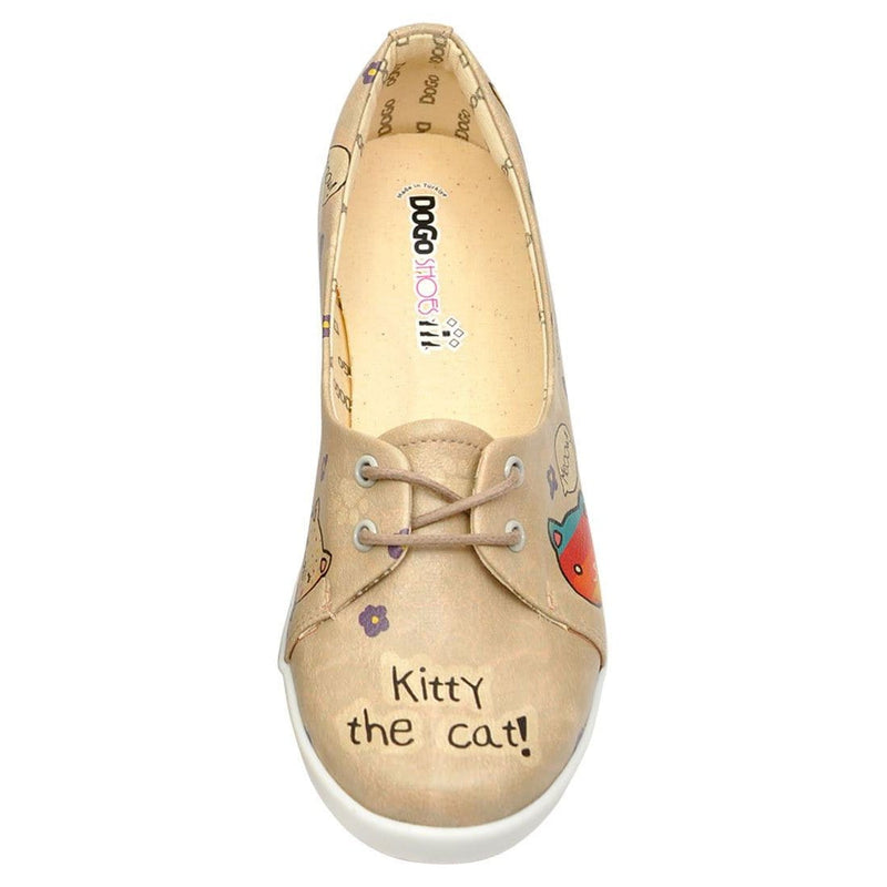 Kitty The Cat Dogo Women's Flat Shoesimage5
