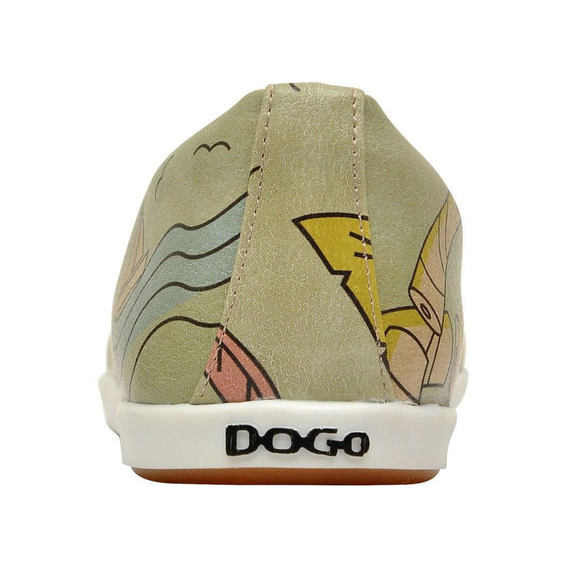 Palm Leaves Dogo Women's Flat Shoesimage6