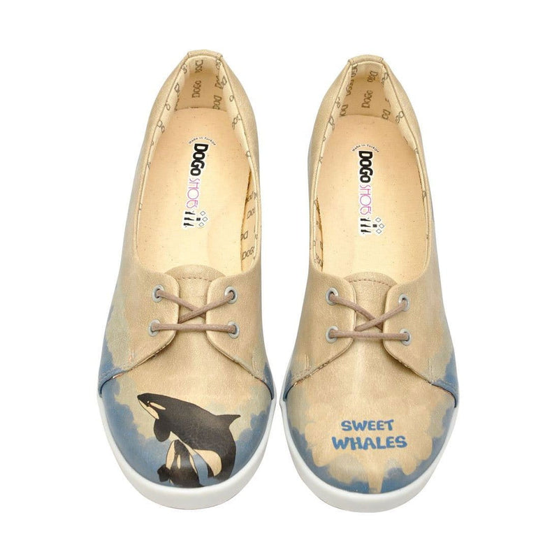 Sweet Whales Dogo Women's Flat Shoesimage2