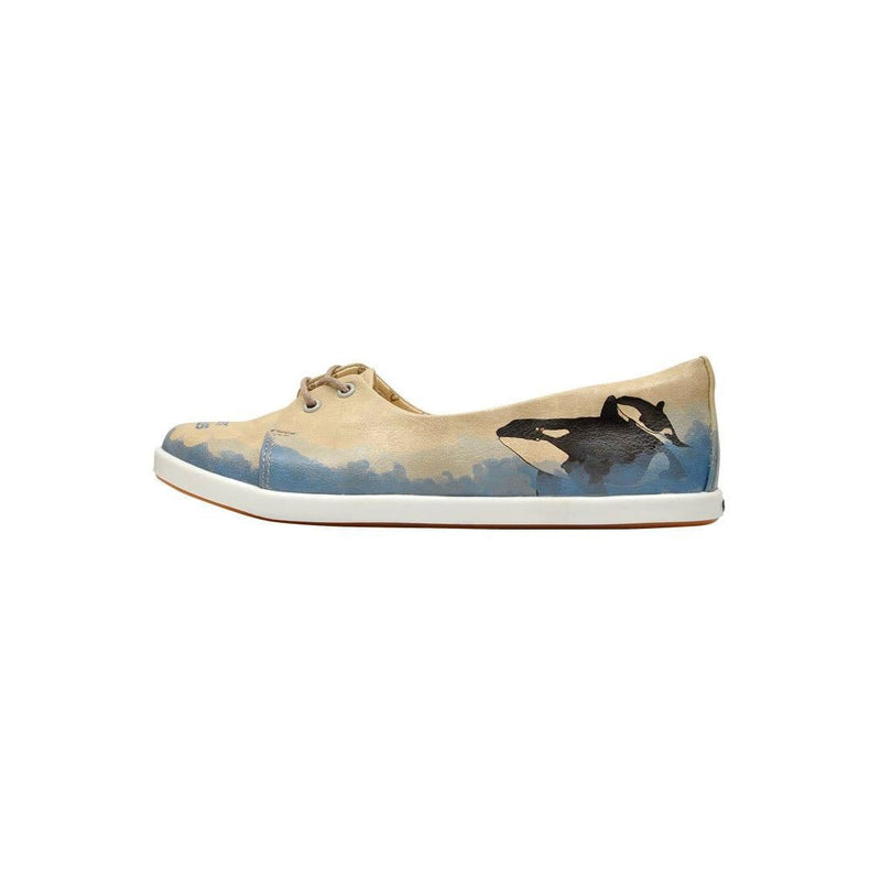 Sweet Whales Dogo Women's Flat Shoesimage3
