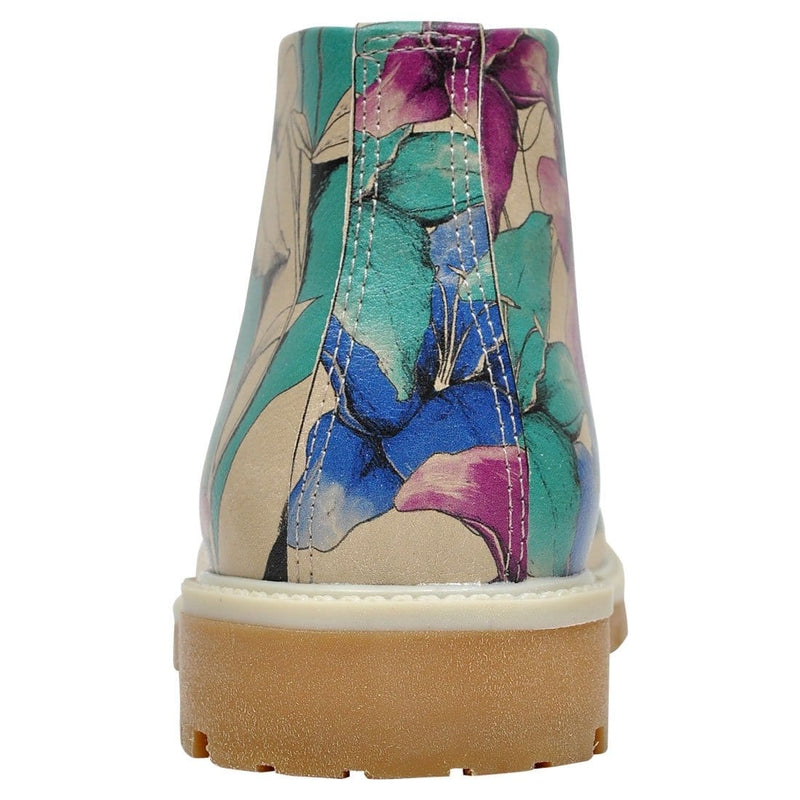 Purple Blue And Blue Dogo Women's Short Boots image6
