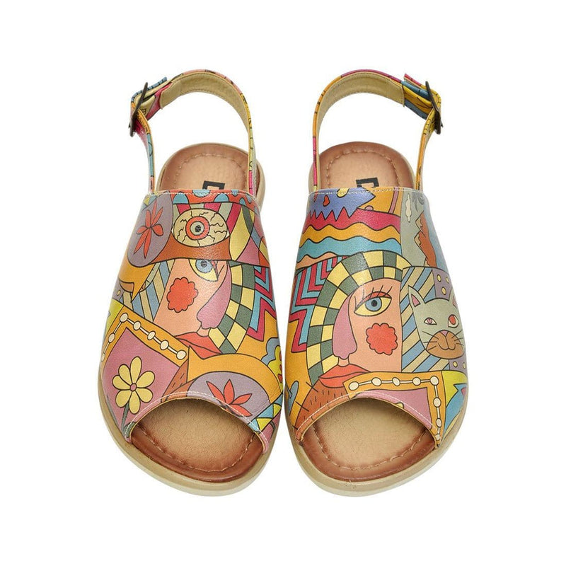 Artsy Dogo Women's Sandals image2