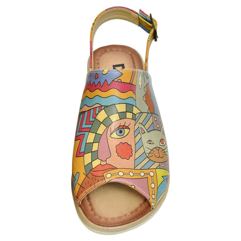 Artsy Dogo Women's Sandals image5