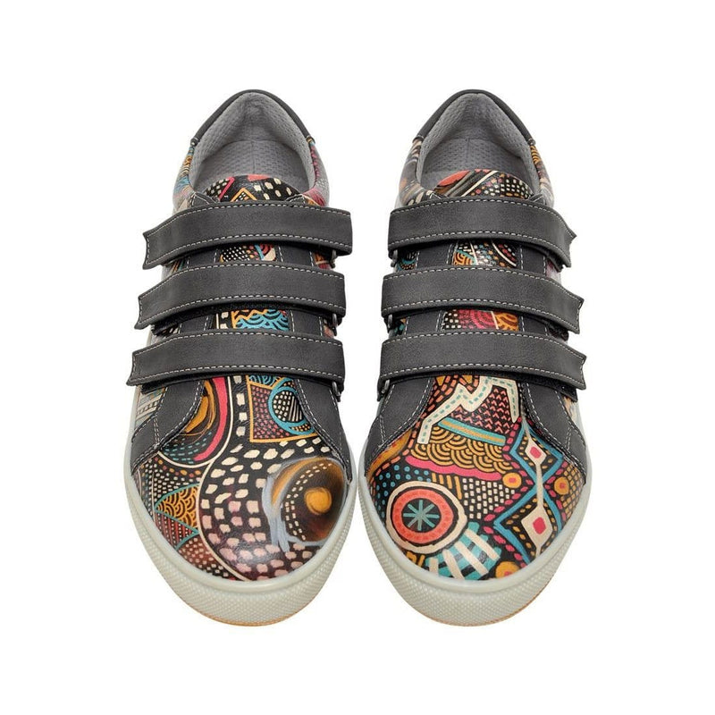 Color Explosion Dogo Women's Flat Shoesimage2