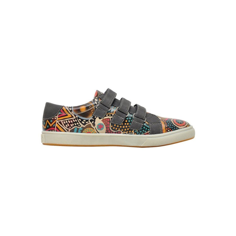 Color Explosion Dogo Women's Flat Shoesimage4