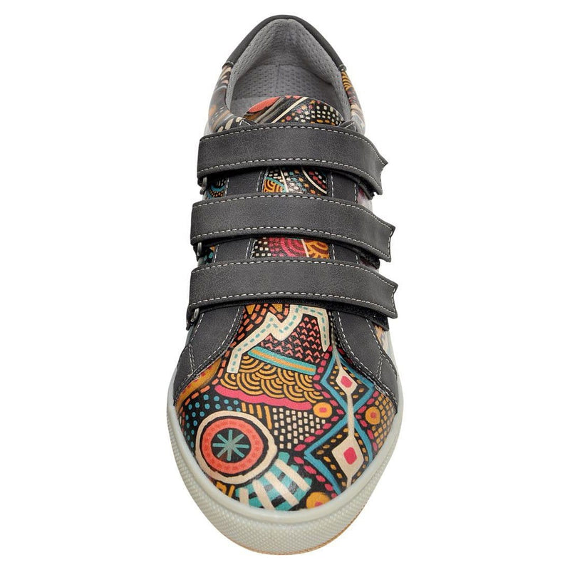 Color Explosion Dogo Women's Flat Shoesimage5