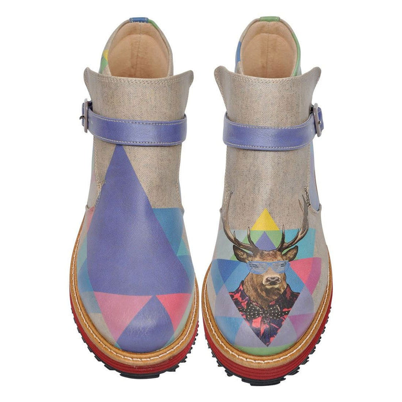 Deers Are Cool Dogo Women's Boots image2