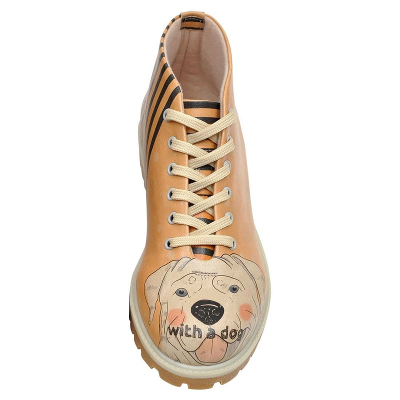 Life Is Better With A Dog Dogo Women's Short Boots image5