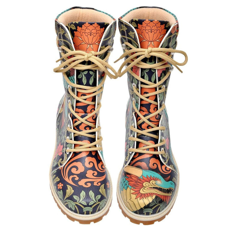 Chinese Dragon Dogo Women's High Boots image2