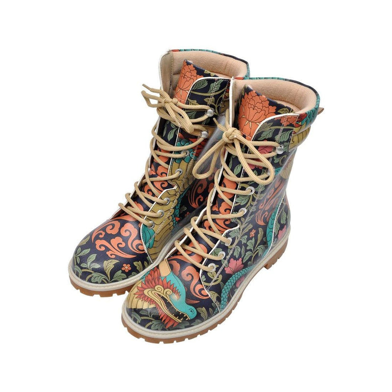 Chinese Dragon Dogo Women's High Boots image1