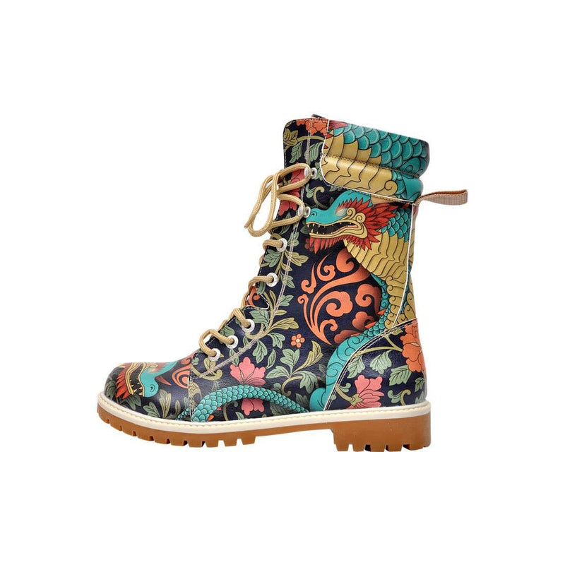 Chinese Dragon Dogo Women's High Boots image3